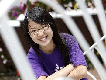 SUCCESS: Tiantian Zheng, a former Whangarei Girls' High School student, has been accepted to attend New York University campus in Abu Dhabi.