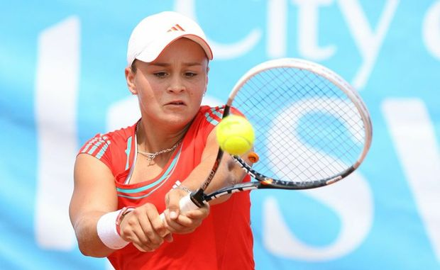Ashleigh Barty will contest the Moorilla Hobart International