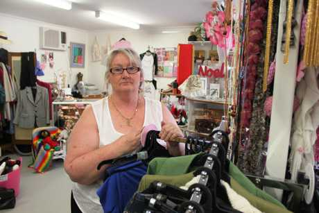 Beautiful You founder Debbie Clayton was left shocked with the state her volunteers found donations in Photo Emily Haynes / Buderim Chronicle