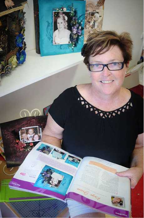Kaye Grieve has been named a scrapbooking master.