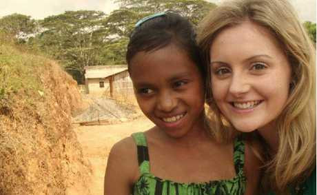 Lauren Bourke loved the time she spent teaching children in East Timor.