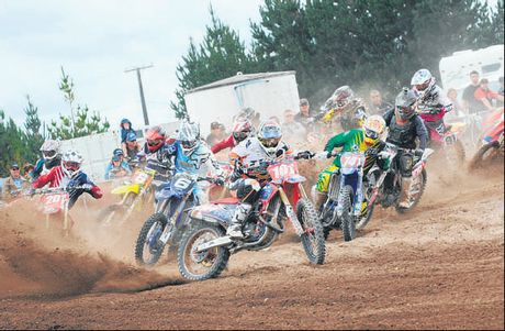 Honda's Ben Townley (101) is looking to repeat his Summercross success this Sunday.