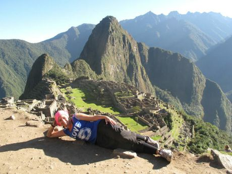 A trek to Peru's Machu Picchu gave a taste of the punishing climb to come.