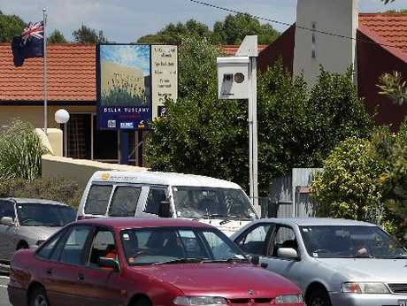 This speed camera, on Kennedy Rd in Napier, is the busiest in Hawke&#39;s Bay.