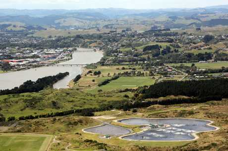 Wanganui wastewater treatment plant. Photo/File