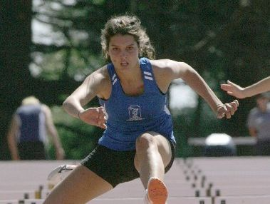 Amy Robinson won three medals at the recent New Zealand Secondary School Track and Field Championship held in Dunedin.