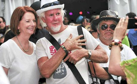 Julia Gillard meets the public.