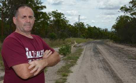 NEEDS ATTENTION: Ballogie local, Gary Ross said he believes the state of the roads is ruining local real estate.