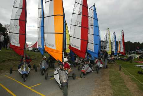 CANADA'S WIND BLOWS: Blokart racing will include Canadian entries at the New Zealand Masters Games in Wanganui. PHOTO/FILE