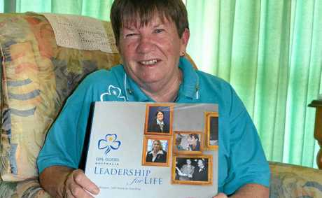 Ann-maree Clark is retiring from Warwick Girl Guides after 30 years continuous service.