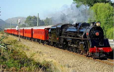 NOSTALGIA: The steam train rides will take place next Saturday between Eketahuna and Masterton.