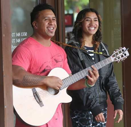 Tiarah Laupua and her brother Kylee Waaka.