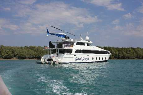 LUXE LODGINGS: MV Great Escape is well set up for 14 passengers.