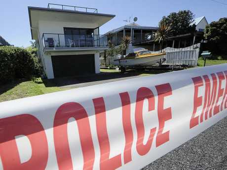 A 64-year-old man is in intensive care at Waikato Hospital after being stabbed at Waihi Beach on Tuesday morning.