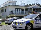 A holidaymaker stabbed outside his caravan on New Year's Eve remains in a critical but stable condition in Waikato Hospital today.