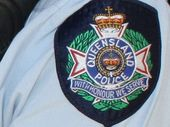 A MAN exposed himself to beachgoers in Hervey Bay, then led police on a chase through vegetation.