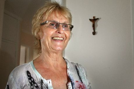 HUMBLED AND REWARDED: Val Southcombe, a Wanganui nurse, was motivated by her strong Christian faith to help the victims of sex trafficking in Cambodia. Ms Southcombe is back in Wanganui after a year in Cambodia