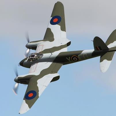 The world's only flyable de Havilland Mosquito fighter bomber is due to touch down at Onerahi.