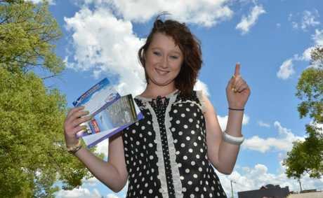 TIME TO FLY: Kingaroy's Rachel Nordling-Baker is all set to go skydiving... again.