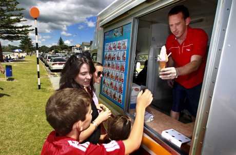 Carl Russell, who gets 40 per cent of the income from his East Auckland Mr Whippy franchise in summer, enjoys the flexible lifestyle.