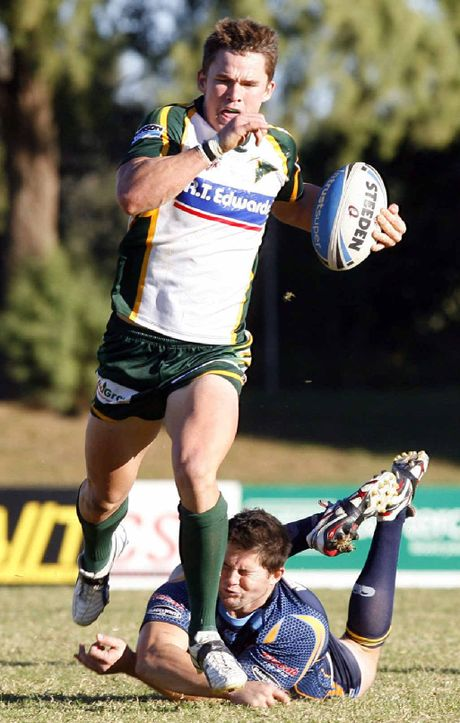 MISSED: Action from the Ipswich Jets v North's Devils game at North Ipswich Reserve.