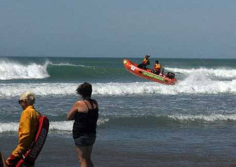 Just as paid regional lifeguards knocked off for the summer, Ruakaka Surf Lifesaving Club had its busiest day in at least two years on Friday with four serious rescues in one day.