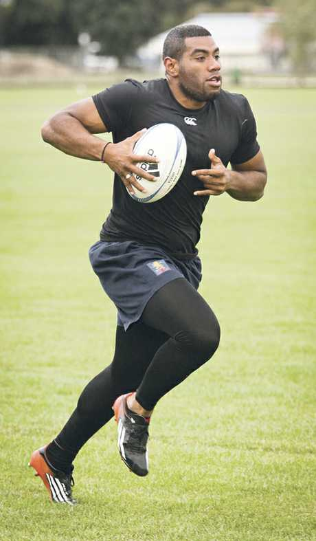 ALL CLEAR: Tino Nemani has been given the thumbs up to make his debut for the Hawke's Bay Sevens side today.