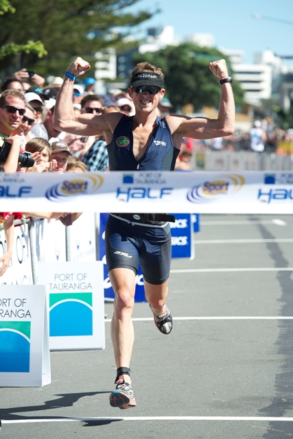 Graham O'Grady wins the Port of Tauranga Half