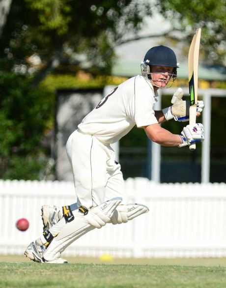 SUPPORT NEEDED: Fast bowler Jarrod Bichel has improved his batting for the Ipswich Logan Hornets this season, but coach Brad Wigney would love to see more experienced Ipswich batsmen join the club.