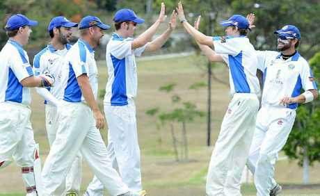 PREMATURE CELEBRATION: Brothers (pictured) had Central Districts on the ropes before a Centrals' comeback inspired by Luke Barrett, Indy Singh and Rhys O'Sullivan.