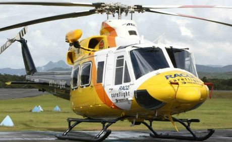 The RACQ CareFlight Rescue Helicopter