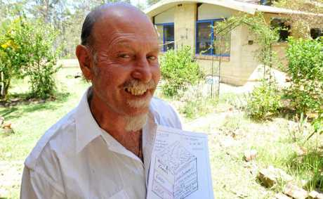 George Oxenbridge of Glenugie with his plan to keep CSG in the ground and be paid for it.