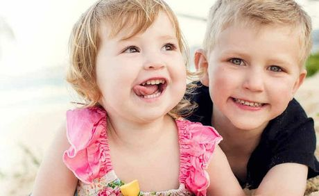 Siblings William and Charlotte Blackburn have two of the most popular child's names in Queensland for 2012.