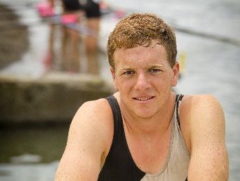 UP AND COMING: Hawkes Bay Rowing Club's Michael Vanderpeet, 18, from Clive, enjoyed meeting with some of New Zealand's elite rowers at the club's annual regatta on the Clive River at the weekend.