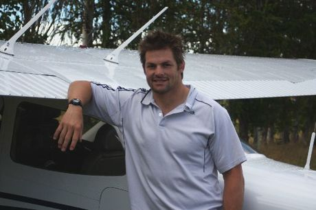 BACK HOME: All Blacks skipper Richie McCaw enjoyed spending time at his local gliding club.PHOTO/JAMES FORD