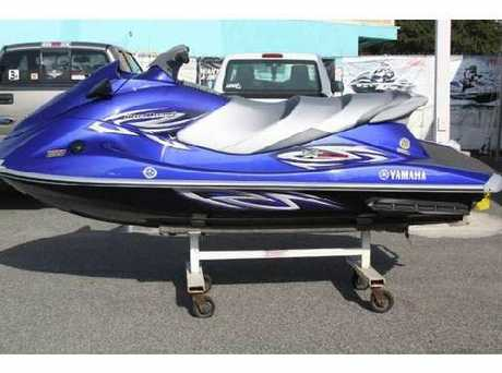 TAKEN: A jetski, similar to this 2006 three-seater Yamaha VX Deluxe, was stolen from a Langs Beach home last month.