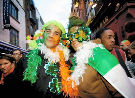 A good time to be had, to be sure at St Patrick's Day celebrations in Ireland.