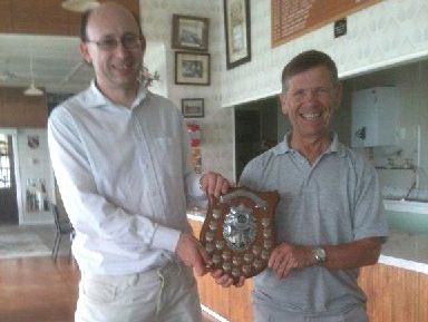 DEADLY DUO: Doug McPhail Shield winners Mike Shipp and Stewart Pye.