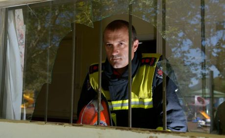 NSW Fire and Rescue captain Greg Hayes has had enough of the vandal&#39;s behaviour.  