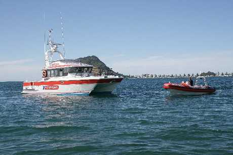 AT THE READY: Tauranga Coastguard has had a quiet holiday season, with the bulk of callouts to help paramedics or tow broken down boats.