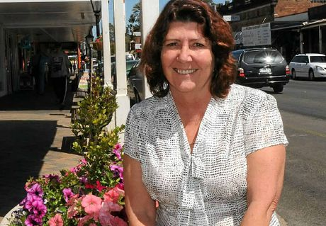 ANSWERING HER CRITICS: Councillor Kathy McLean is opposed to the building of a new shopping precinct in Laidley.