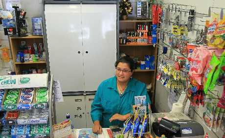 SMOKESCREEN: Tauranga convenience store owner Candice Dewat said the New Year's Day cigarette tax increase had not affected the number of customers lighting up.