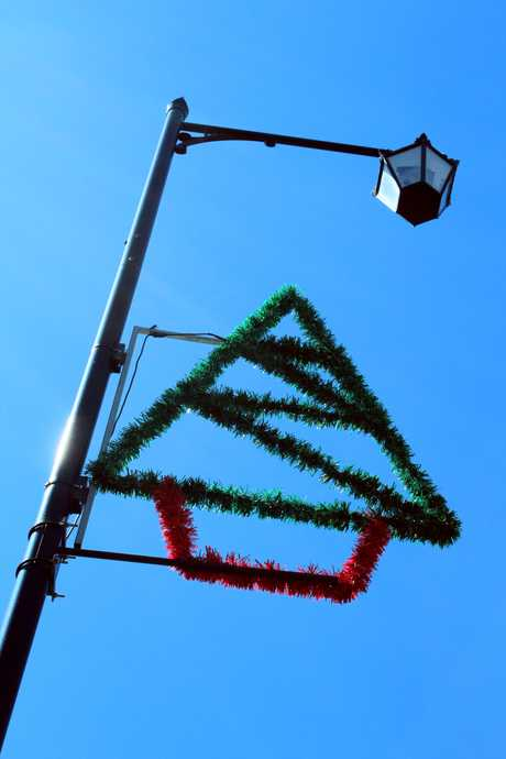 MISSING: Waitaki District Council is on the lookout for a Christmas decoration similar to this one which has gone missing. PHOTO/REBECCA RYAN