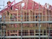 Confidence is returning to Tauranga's recession-hit building industry with the number of consents issued for new houses more than double a year ago.
