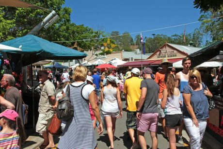 Eumundi Markets. Photo: Darryn Smith / Sunshine Coast Daily