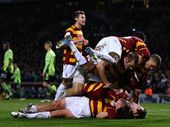 IF you had told Bradford City fans 10 years ago they would be on the verge of playing in a major English cup final they would have looked stupidly at you.