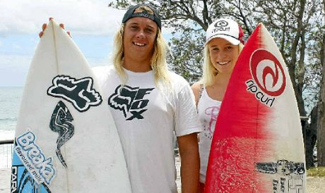 FACEBOOK REQUEST: Coast surfers Kelly Norris and Laura Poncini need your support to secure wildcard entries in the Breaka Burleigh Pro.
