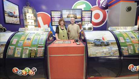 Bayfair Lotto owners Maurice and Diane Parker are not surprised to learn their Lotto store is the luckiest in the Western Bay.