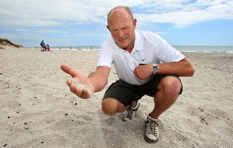 Pharmacist Mark Bedford has spent 14 years researching the beach bug, commonly known as the Mount Mauler.