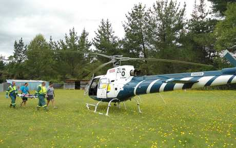7-year-old boy is airlifted from Minginui after colliding with a car